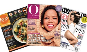 Hearst Magazines: One-Year Subscription to Cosmopolitan, Food Network Magazine, or O, the Oprah Magazine (Up to 72% Off)
