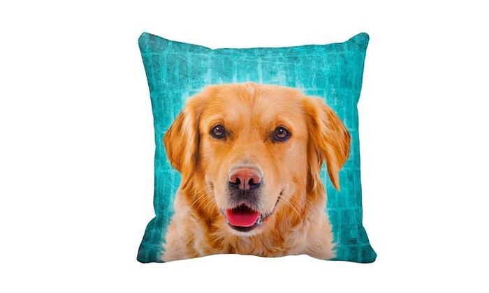 LiLiPi Dog Breed Throw Pillow Groupon Goods
