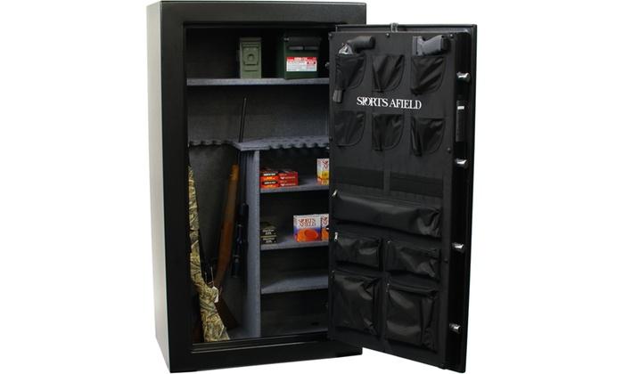 Gun safe penetration