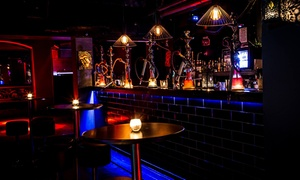 Marrakech Lounge & Cocktail Bar: Shisha, Cocktails, and Pizza for Two ($39) or Four People ($75) at Marrakech Lounge & Cocktail Bar (Up to $152 Value)