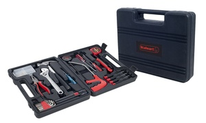 Stalwart Household, Car, and Office Tool Kit (65-Piece)