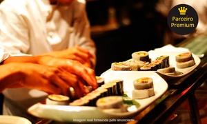 Atlântico Sushi - Botafogo: Rodízio de comida japonesa com sobremesa para 1 ou 2 pessoas no Atlântico Sushi – Botafogo