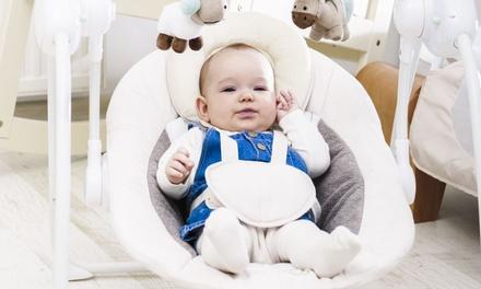 Silla mecedora para bebé Lionelo con 12 melodías diferentes para dormir