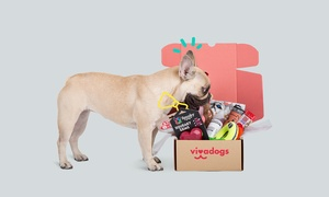 Vivadogs: Wertgutschein über 25 oder 114 € anrechenbar auf ein PfötchenBox-Abonnement für 1 oder 6 Monate bei Vivadogs