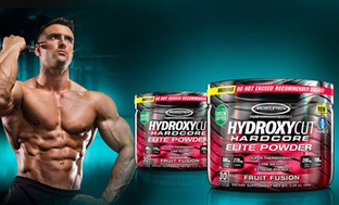 Hydroxycut Fruit Punch Hardcore Elite Weight-Loss Supplement