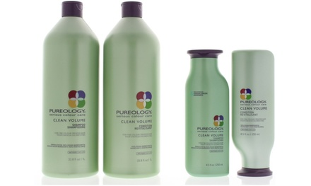 Pureology Clean Volume Shampoo, Conditioner, or Duo (8.5 or 33.8 Oz.)