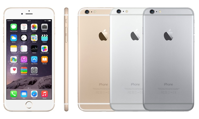Sim-Buy: Apple iPhone 6 oder 6 Plus refurbished in Spacegrau, Gold oder Silber opt. mit 33 Mon. Garantie inkl. Versand