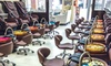Sparadise Deluxe Pedicure and Gel Manicure, Valid Friday-Sunday