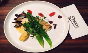 Brasserie Sapore: Menu gastronomique italien en 4 services chez Brasserie Sapore