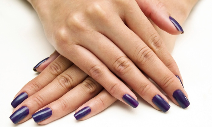 Candyz Nailz - Stevie and Company Hair Salon: One or Three Gel Manicures, with Optional Spa Pedicure at Candyz Nailz (51% Off)