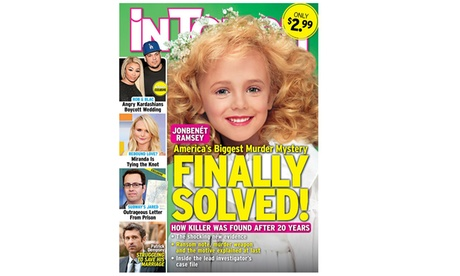 6-Month, 26-Issue Subscription to InTouch Weekly f6b1b6db-a0f5-4533-9a35-dc05f358a8b7