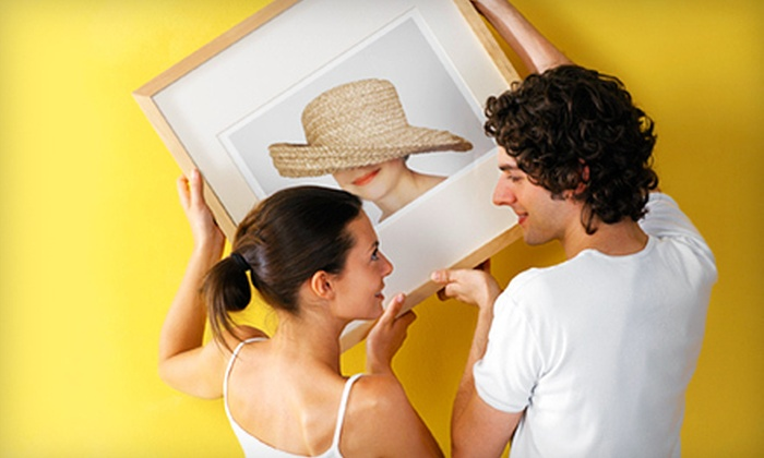 Bonrics Custom Framing Gallery - Original Town: $49 for $100 Worth of Custom Framing at Bonric's Custom Framing Gallery in Carrollton