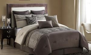 Mali Oversized Reversible Comforter Set (9-Piece)