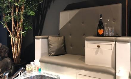 Spa pedicure van 60 minuten met bubbels bij Ava Waxing And Beauty Bar in Amsterdam, Rotterdam of Den Haag