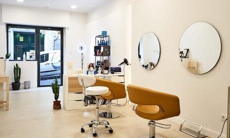Alisado de queratina para cabello corto, media melena o largo en Peluquería Sónica