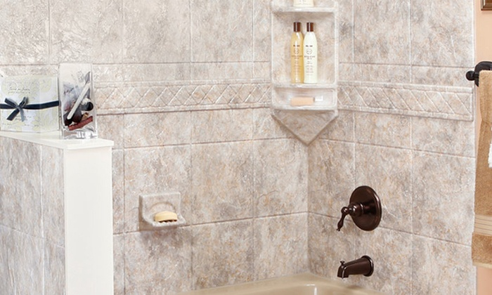 Luxury Bath - Southeast Redmond: Grab Bar, Hand-Held Shower, or Sliding Shower Doors with Towel Bar from Luxury Bath (Up to 55% Off)