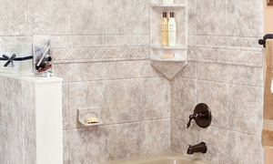 Luxury Bath: Grab Bar, Hand-Held Shower, or Sliding Shower Doors with Towel Bar from Luxury Bath (Up to 55% Off)