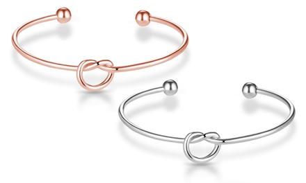 Philip Jones Love Knot Bangle