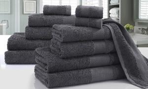 Lot 12 serviettes coton égyptien