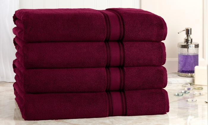 Oversized Bath Sheets Inspiration Up To 60% Off On Oversized Bath Sheets 60Pack Groupon Goods