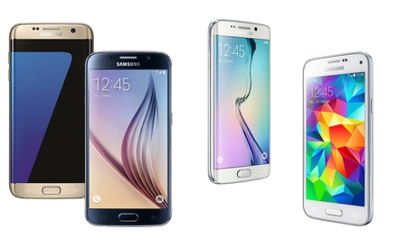 Samsung Galaxy S5 mini, S5 neo, Note 4, S6, S6 Edge oder S7 Edge refurbished inkl. Versand (Berlin)