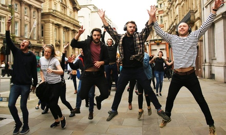 Silent Disco Dancing Tour for Up to Four with Silent Adventures (Up to 40% Off)  (Liverpool)