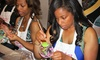 Studio AMN & Designs - Jackson: BYOB Wine-Glass-Painting Session for Two or Four at Studio AMN & Designs (Up to 52% Off)