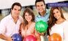 East Side Bowling - East Side Bowling: 2 Std. Bowling inkl. Leihschuhen und Fingerfood für Vier oder Sechs bei East Side Bowling (bis zu 62% sparen*)