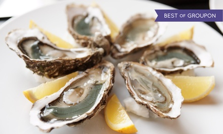 Seafood and American Cuisine at Captain James Landing (50% Off). Two Options Available.