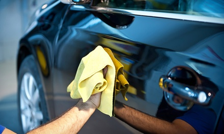 Exterior Wash with Spray Wax $12 or Full Car Detail $119 at Enviro Friendly Hand Car Wash Up to $250 Value