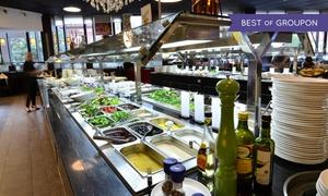 Zhous Five: Mongolisches All-you-can-eat-Buffet mit Live Cooking für 2 Personen im Restaurant Zhous Five (30% sparen*)