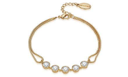 One or Two Mestige Bracelets or Bangles with Crystals from Swarovski® With Free Delivery
