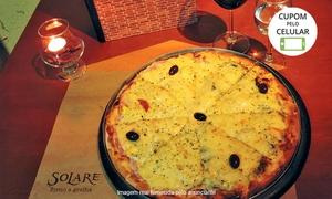 Solare Forno e Grelha: Solare Forno e Grelha – Vila Mascote: 1 ou 2 pizzas grandes para delivery ou retirada no local