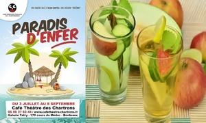 """""""Paradis d'enfer"""" au Café Théâtre Chartrons"""
