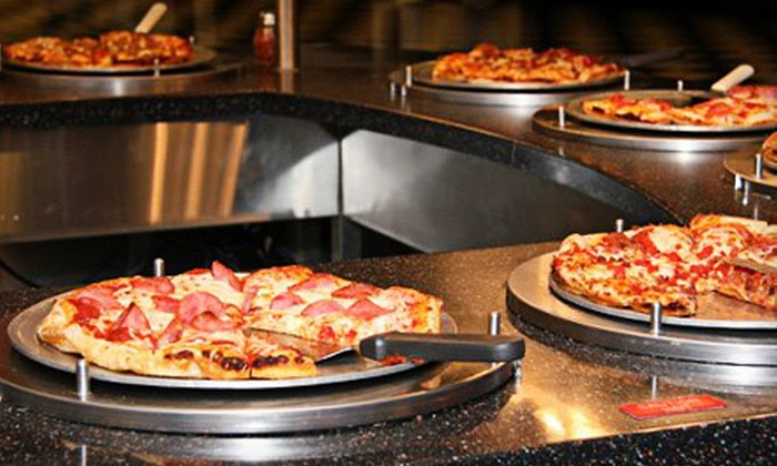 Hammer's Food & Fun - Sappington: $29 for Buffet Meals, Drinks, and Indoor Attractions for Four at Hammer's Food & Fun (Up to $57.92 Value)
