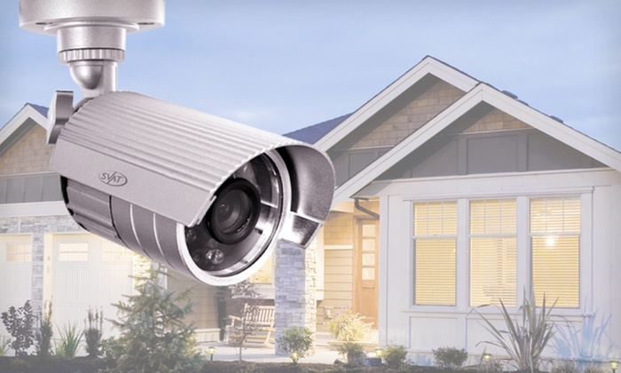 SVAT 4-Channel Smart Security System: $199.99 for a SVAT Security System with 4 Outdoor Cameras ($349.99 List Price)