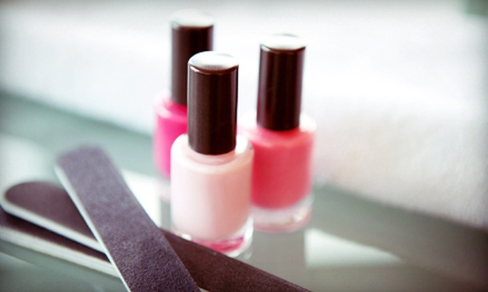 Pamper Moment - Mill Run: $29 for Mani-Pedi at Pamper Moment ($65 Value)