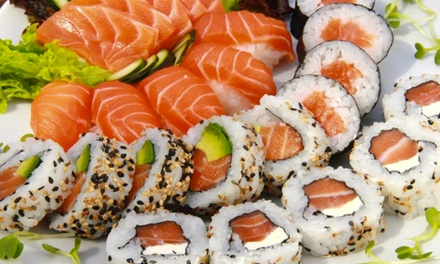 Buffet and Drinks for Two or Four People at Asian Buffet & Grill (Up to 42% Off)
