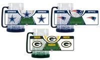NFL 16 Oz. Crystal Freezer Mugs