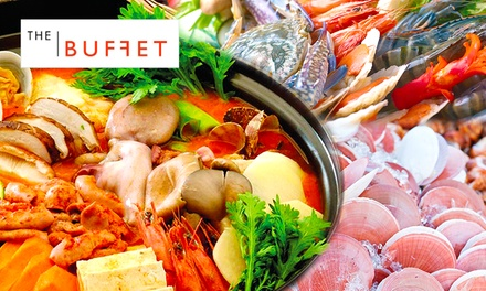 M Hotel, The Buffet: $45.90 for a Seafood Steamboat Dinner Buffet (worth $68.27). More Options Available