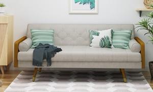 Aidan Tufted Sofa. Multiple Colors Available.