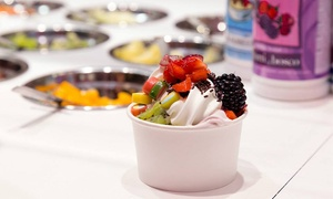 Frozen Joe Hamburg: 3, 5 oder 10 Frozen-Joghurt mit All-you-can-Toppings bei Frozen Joe in Hamburg (bis zu 43% sparen*)