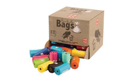 1600 sacchetti igienici per cani usa e getta per animali