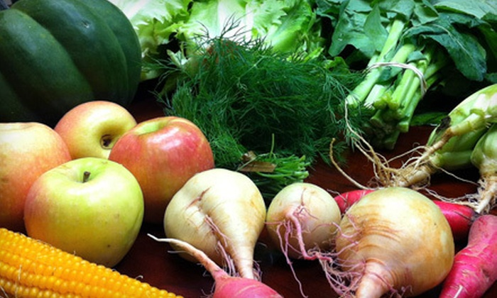 Freshfully - Forest Park: Locally Grown Groceries at Freshfully (Half Off). Two Options Available.