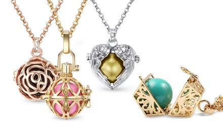 Halskette mit süßem Motiv nach Wahl, verziert mit Kristallen von Swarovski® (bis zu 81% sparen*)