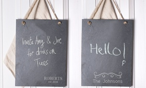 Personalized Slate Memo Boards (Up to 75% Off)