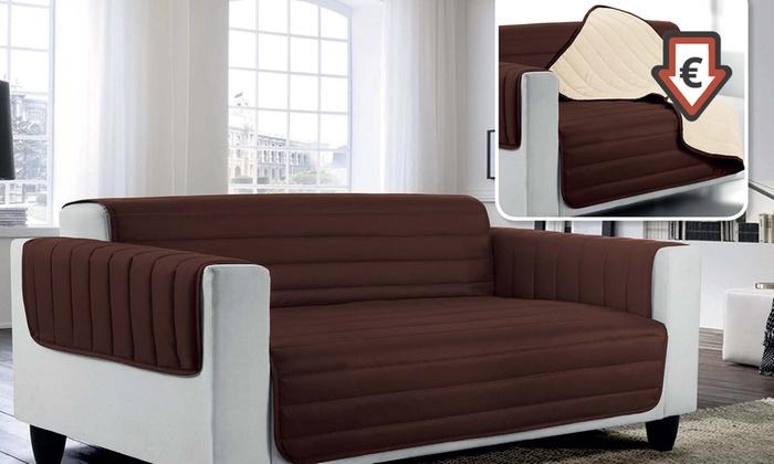 housse de canap matelass e groupon. Black Bedroom Furniture Sets. Home Design Ideas