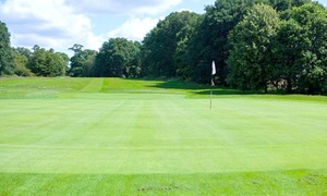 Dorking Golf Club: 18 Holes with Coffee and Bacon Roll for Two or Four at Dorking Golf Club (Up to 66% Off)