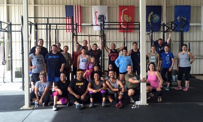 image for $39 for One Month of Unlimited Classes at CrossFit Fear Average ($150 Value)