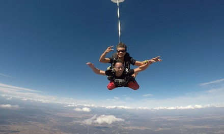 $185 +$37 APF Levy and CI Charges for Tandem Skydive Up to 15,000ft for One Person with Adrenalin Skydive Goulburn